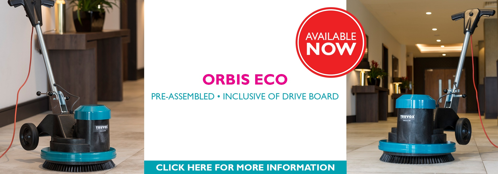Orbis eco Commercial Rotary Machine