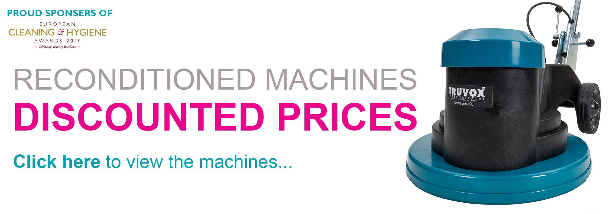 Truvox Reconditioned Machines