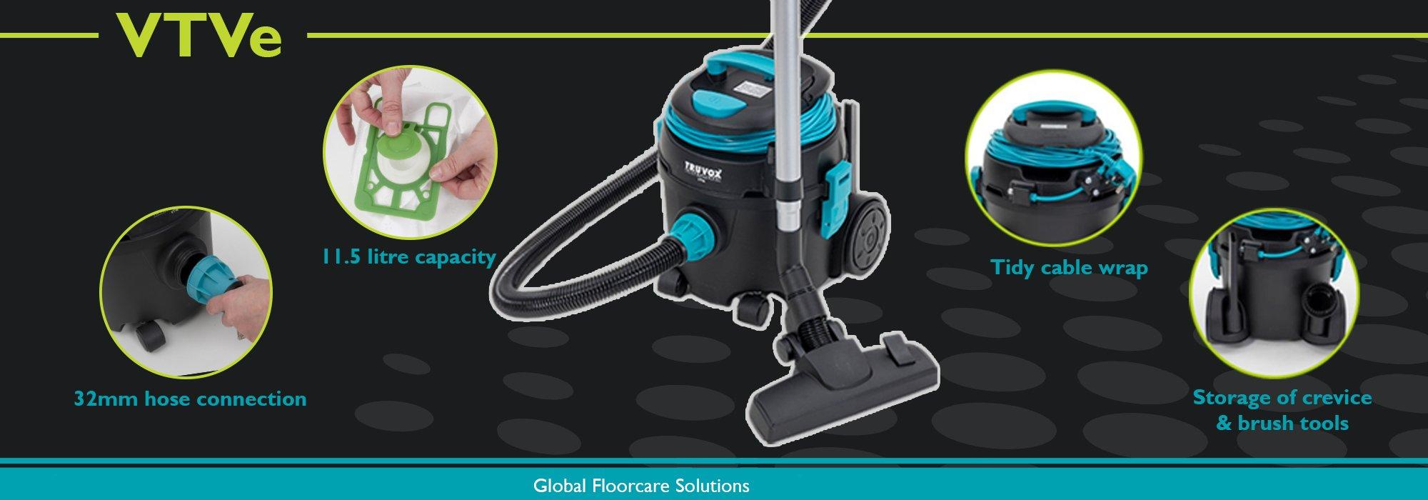 VBUII battery upright vacuum