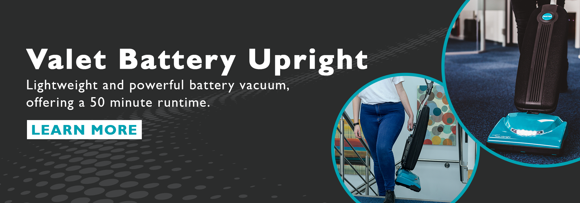 VBU battery upright vacuum
