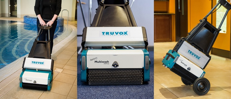 Truvox International launches the Multiwash 340/Pump Battery