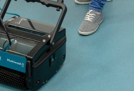 Scrubber dryers streamline carpet cleaning in historic Stowe School