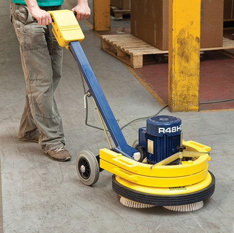 Cimex heavy duty industrial cleaning truvox truvox for Industrial concrete cleaner