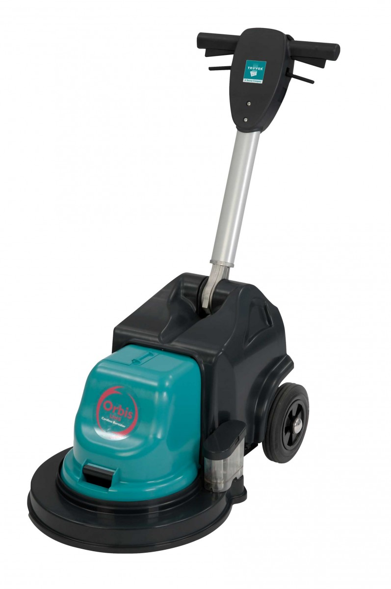 Truvox Orbis Cordless Burnisher industrial floor cleaning machine made in britain