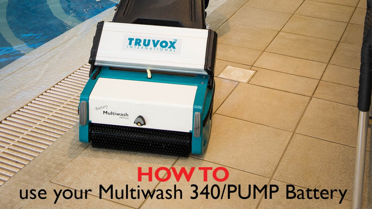 care homes multiwash 340 pump battery
