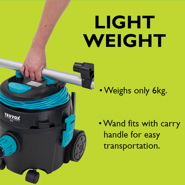 light weight tub vacuum